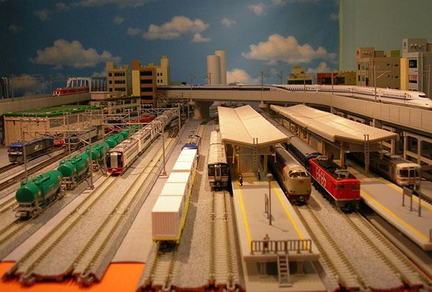 鉄道模型 駅