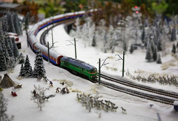 鉄道模型 雪国