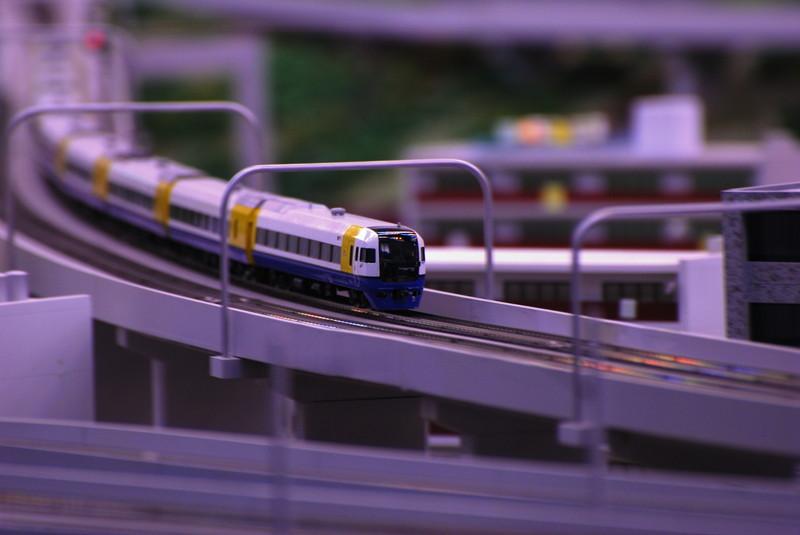 鉄道模型 走行