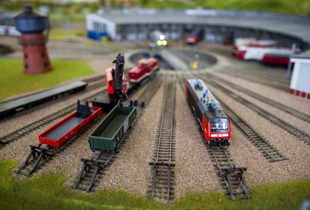鉄道模型 終着